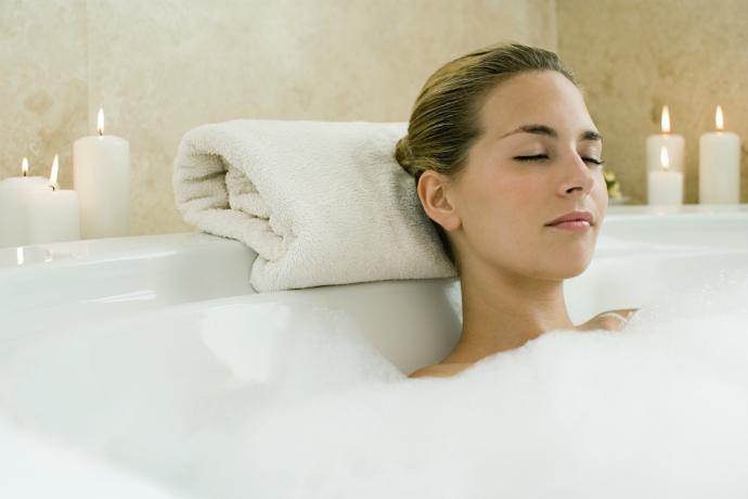 как устроить спа в собственной ванной