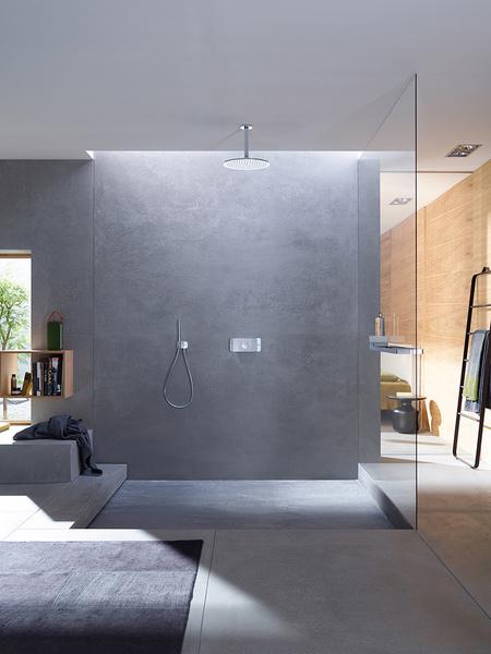 Система управления душем Axor One от дизайнеров Barber & Osgerby | галерея [1] фото [1]