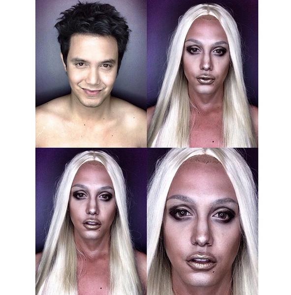 Филиппинский визажист перевоплотился в звезд с помощью макияжа | галерея [1] фото [7]