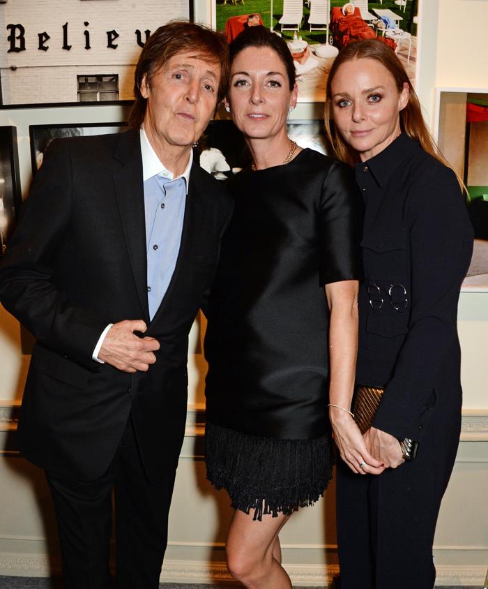 Пол МакКартни с дочерьми: фото