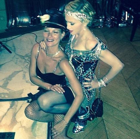 Кейт Мосс и Мадонна