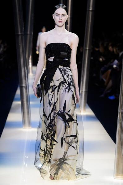 На Неделе высокой моды в Париже прошел юбилейный показ Giorgio Armani Prive | галерея [2] фото [26]