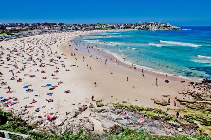 Пляж Бонди, Сидней, Австралия