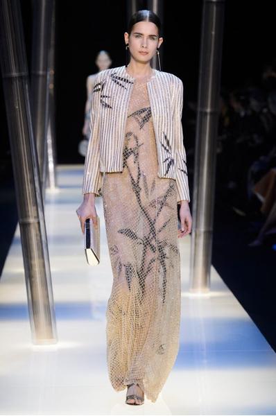 На Неделе высокой моды в Париже прошел юбилейный показ Giorgio Armani Prive | галерея [2] фото [25]