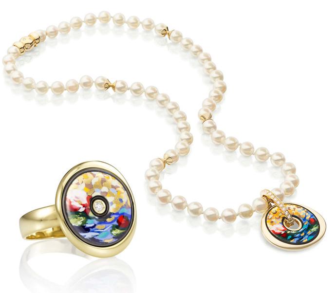 новые украшения из премиальной линии 18K Gold&Diamonds