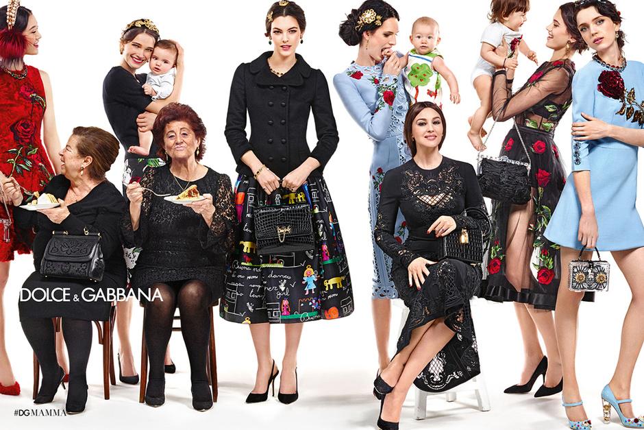 Моника Беллуччи для Dolce & Gabbana