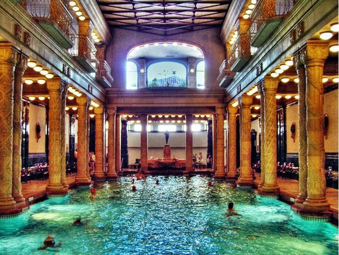 Gellert Baths, Будапешт