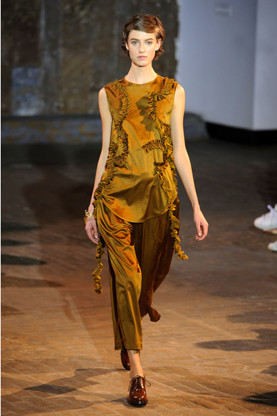Самые красивые образы Недели моды в Нью-Йорке | галерея [1] фото [62]