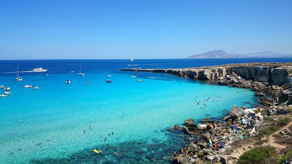 7. Cala Rossa, Сицилия, Италия