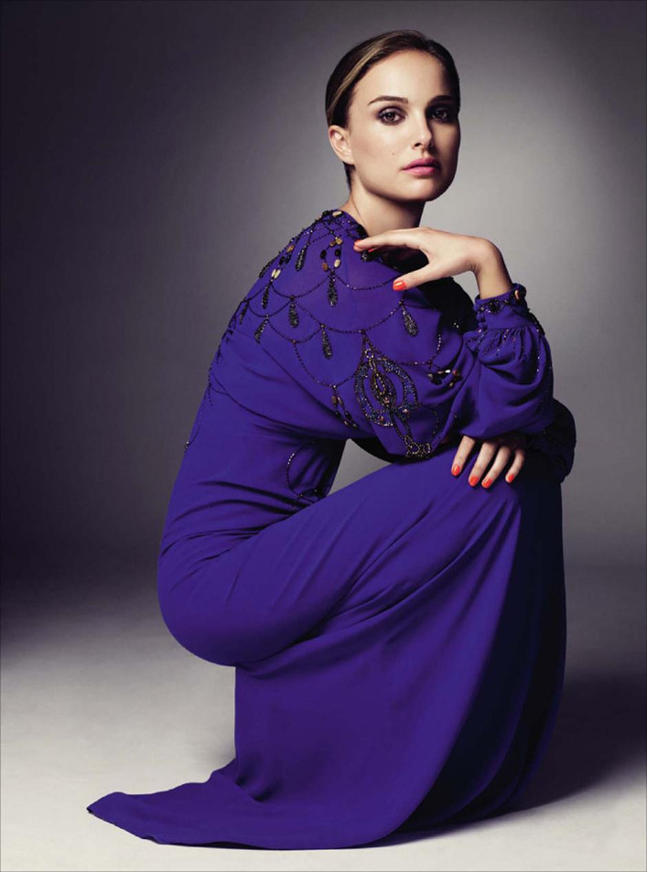 Натали Портман в платье Christian Dior Haute Couture дизайна Джона Гальяно (коллекция осень-зима 2009)