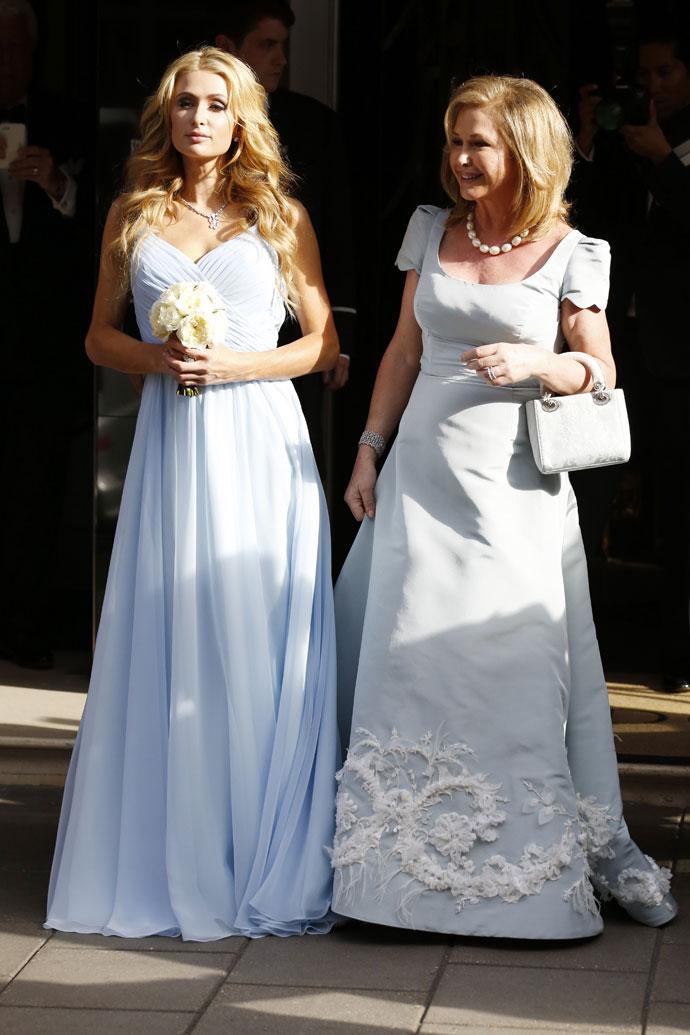 Сестра и мама невесты: Пэрис и Кэти Хилтон