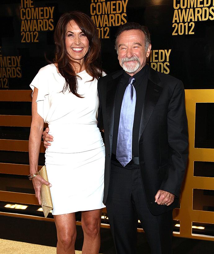 Робин Уильямс с супругой Сьюзан
