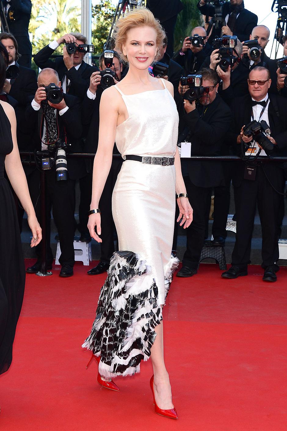 В платье Chanel, 2013 год