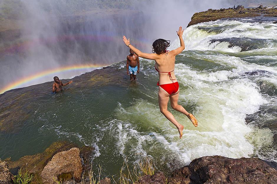 Devil's Pool, Южная Африка