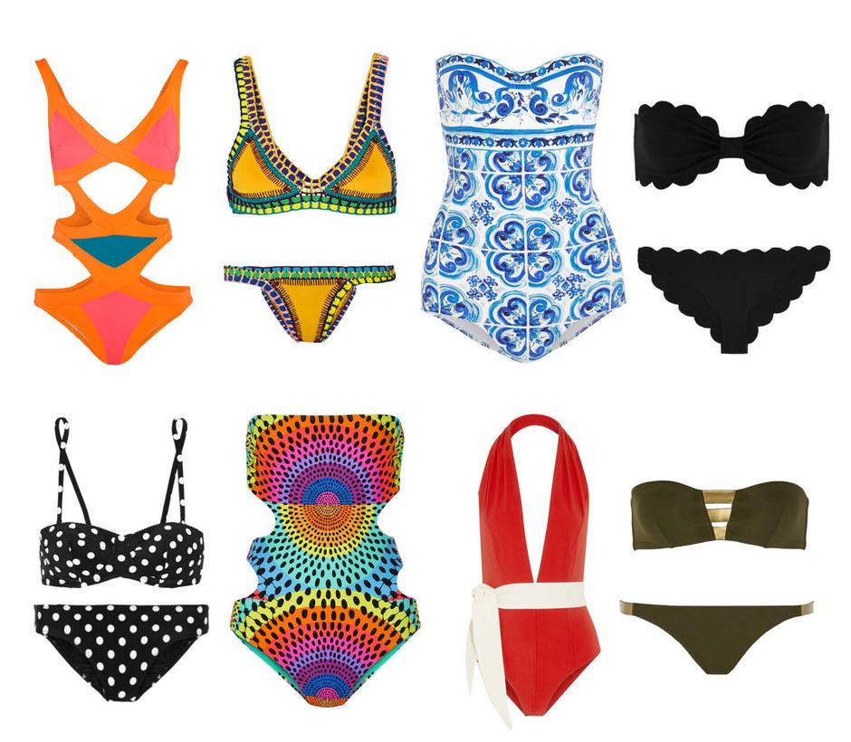 Выбор ELLE: Agent Provocateur, Kini, Dolce&Gabbana, Marysia, Dolce&Gabbana, Mara Hoffman, Lisa Marie Fernandez, Eres