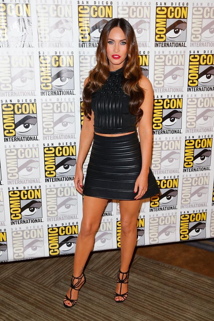 Меган Фокс на фестивале Comic-Con 2014
