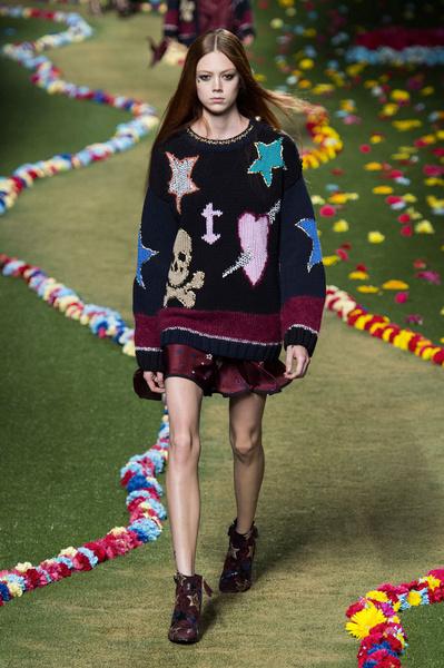 Показ Tommy Hilfiger на Неделе моды в Москве