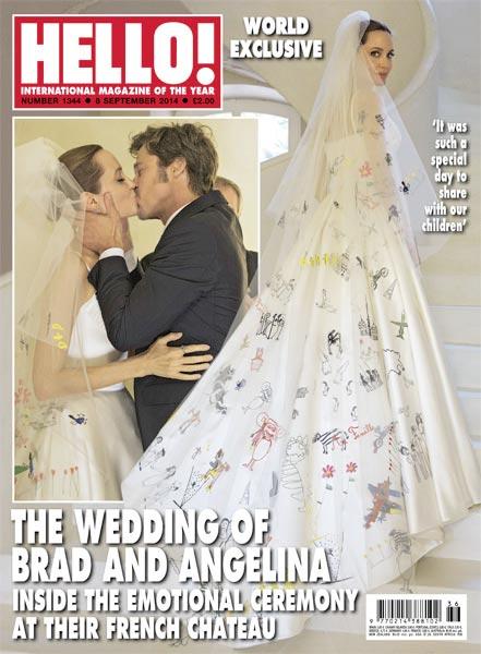 Свадебные фото Анджелины Джоли и Брэда Питта