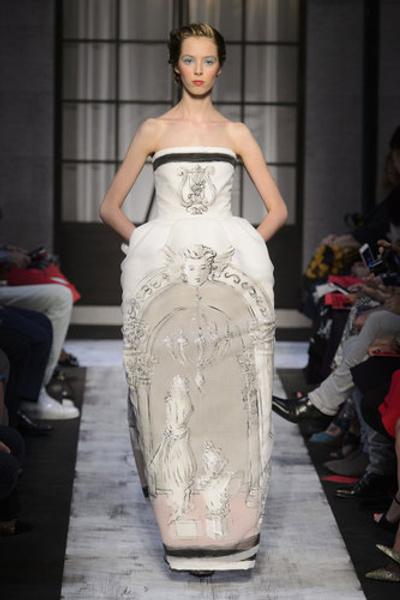 10 самых красивых свадебных платьев с Недели Высокой моды в Париже. | галерея [1] фото [5]