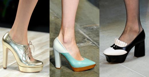 Туфли-лодочки от Blugirl, Bottega Veneta и Walker