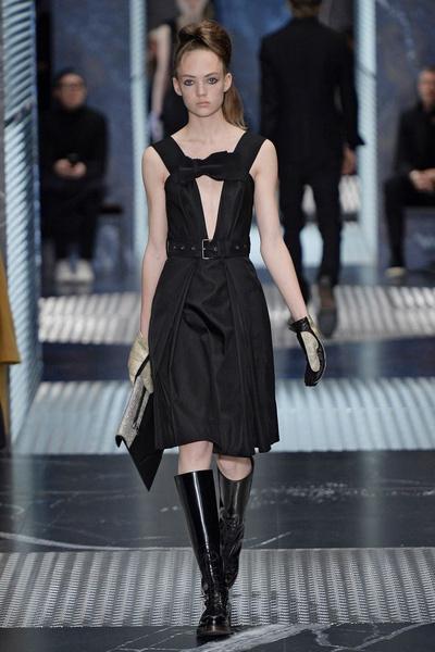 Бренд Prada представил на Неделе мужской моды в Милане сразу две коллекции | галерея [3] фото [12]