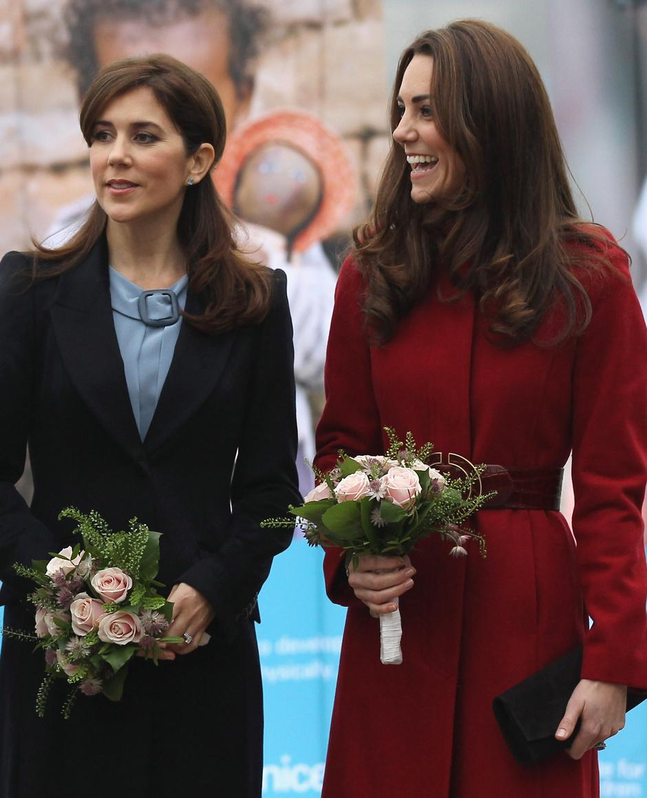 Принцесса Мэри и Кейт Миддлтон