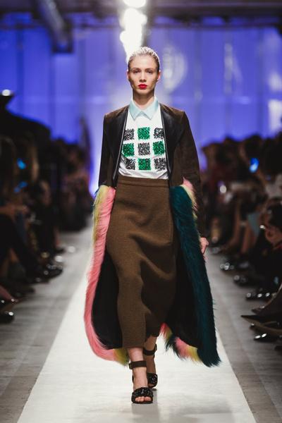 К зиме готовы: модный показ в ЦУМе | галерея [1] фото [29]