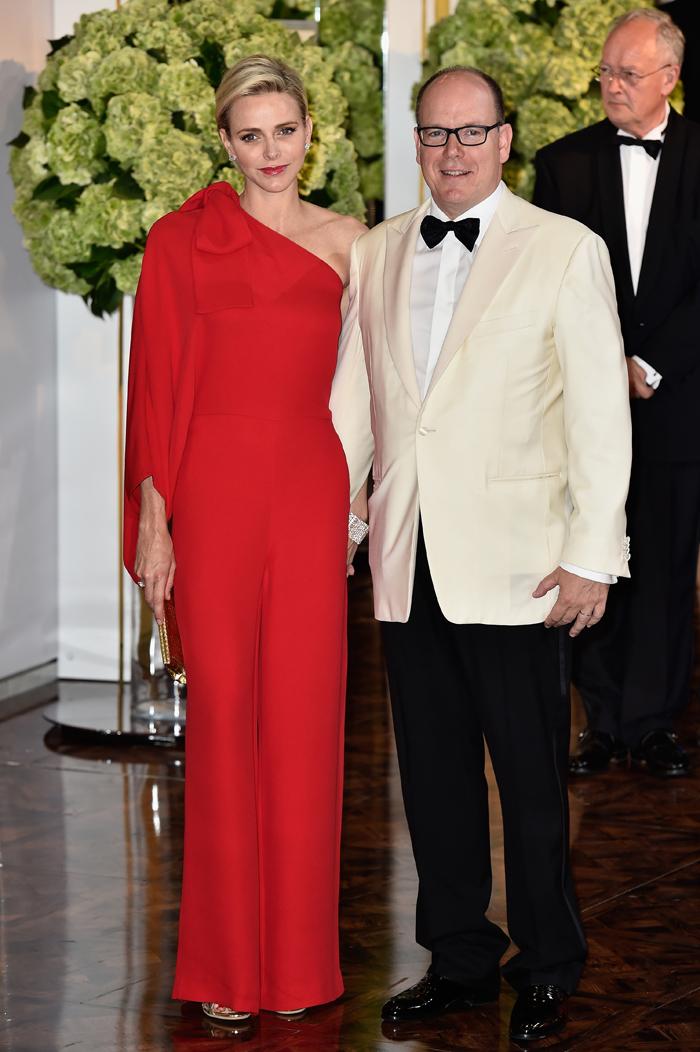 Князь и княгиня Монако: фото 2015
