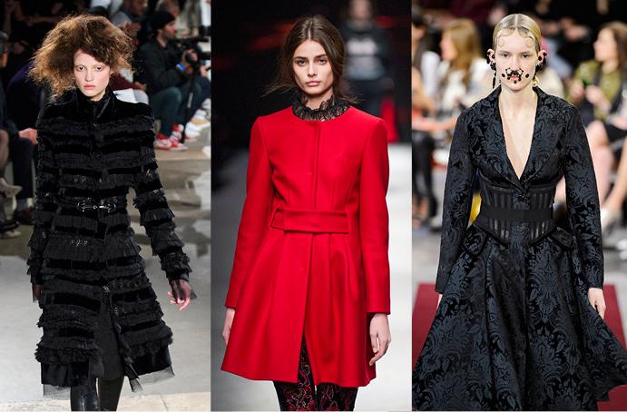 Alexander McQueen, Alberta Ferretti, Givenchy