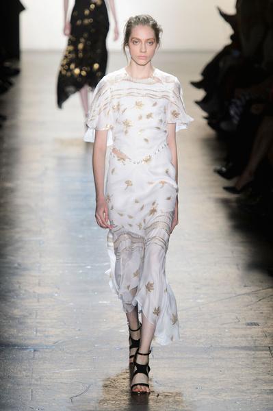 Самые красивые образы Недели моды в Нью-Йорке | галерея [1] фото [40]