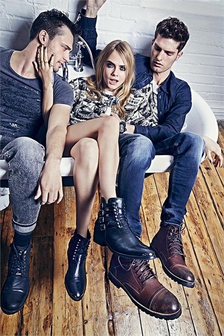 Коллекция Pepe Jeans осень-зима 2014-15