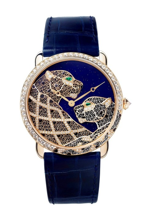 Cartier Ronde Louis Cartier Filigree Watch
