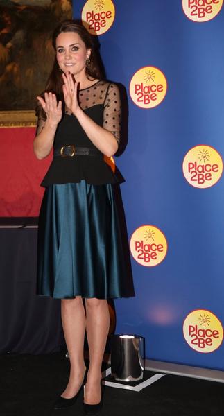 Кейт Мидллтон пригласила благотворительный фонд Place2Be во дворец