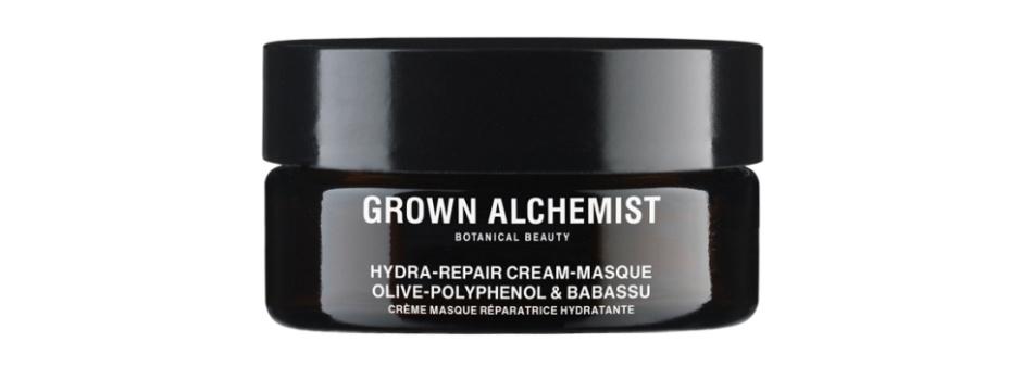 Увлажняющая маска: полифенолы и бабассу Hydra-Repair Cream-Masque: Olive-Polyphenol & Babassu от Grown Alchemist
