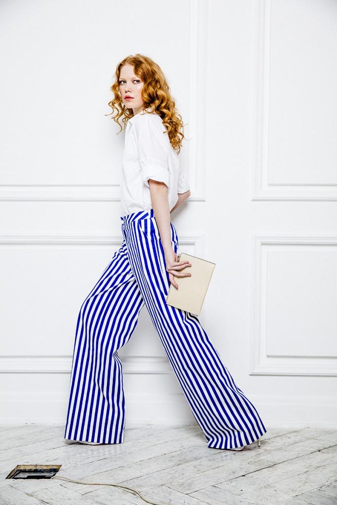 Выбрать правильные широкие брюки