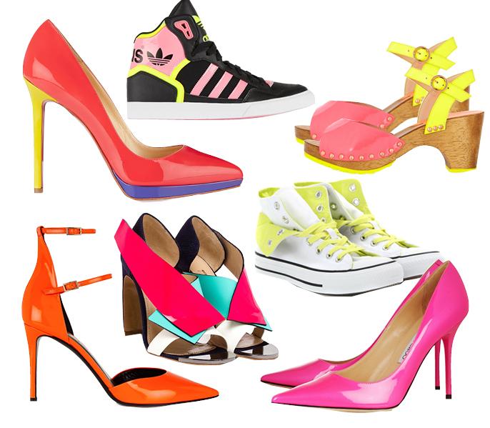 Выбор ELLE: лодочки Christian Louboutin, Tamara Mellon, кроссовки Adidas Originals, туфли Nicholas Kirkwood, кеды Converse, босоножки Sophia Webster, лодочки Jimmy Choo
