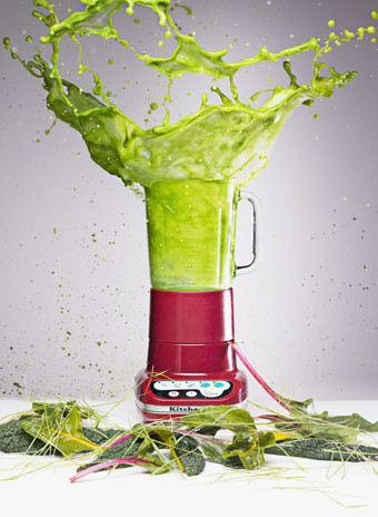 зеленый смузи фото
