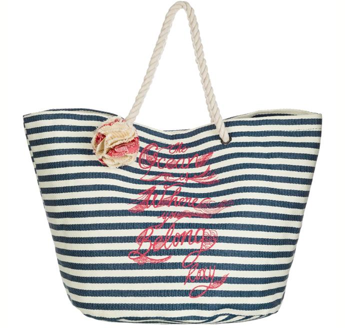 Пляжная сумка Roxy модные летние сумки 2014 фото