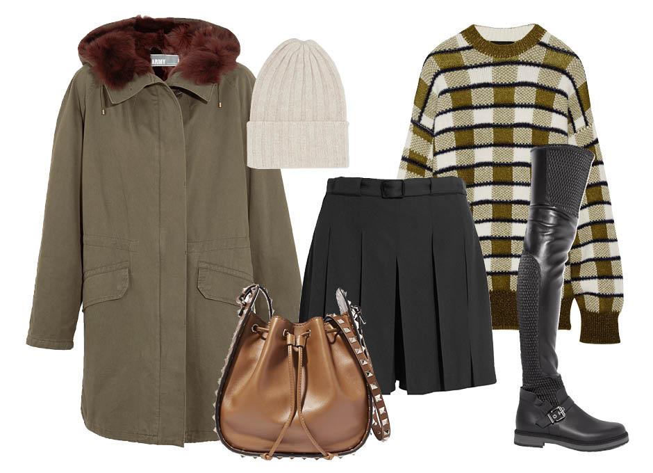 Как выглядеть стильно зимой и не замерзнуть