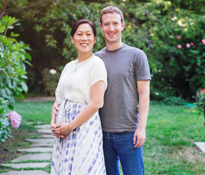 Марк Цукерберг – Присцилла Чан