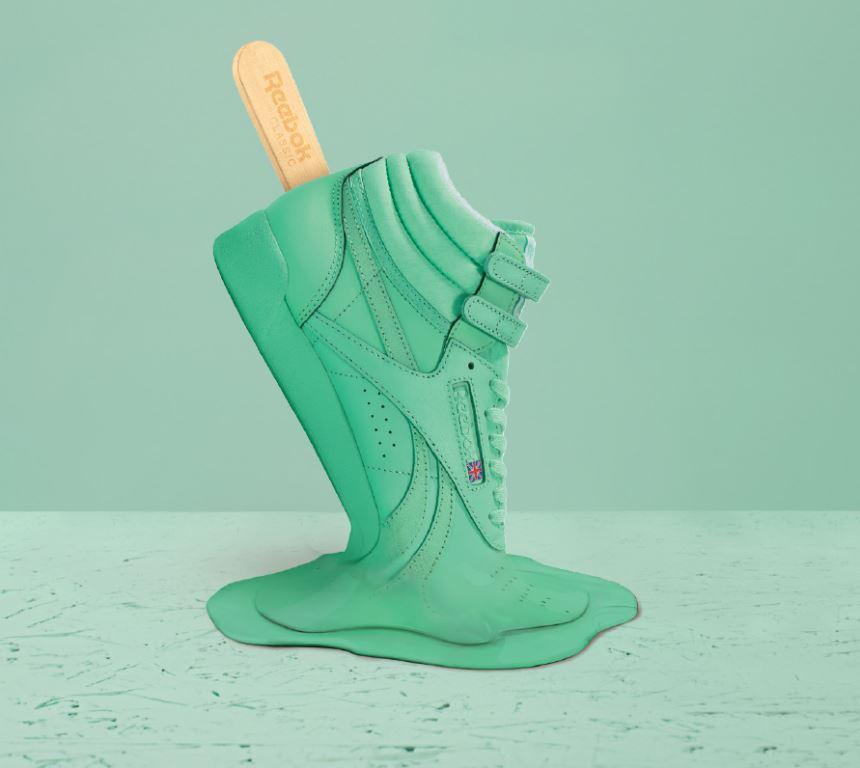 Reebok Classic создаст мороженое в виде кроссовок в честь выпуска капсульной линии Spirit