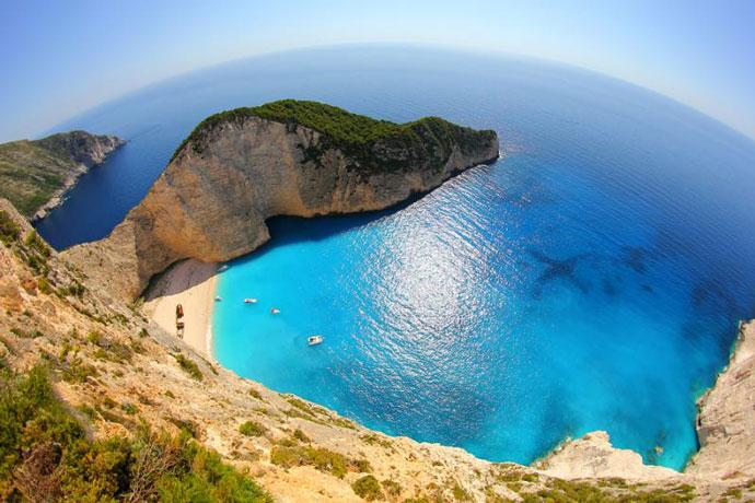 Бухта Навайо, Греция 1