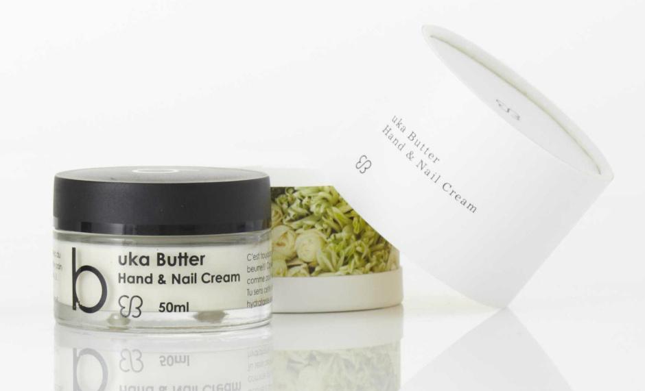 Питательный крем-масло для рук и ногтей Hand & Nail Cream от Uka Butter