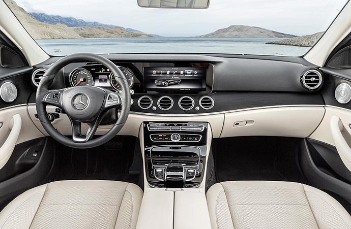 Новый седан Е-Класса от Mercedes-Benz 2