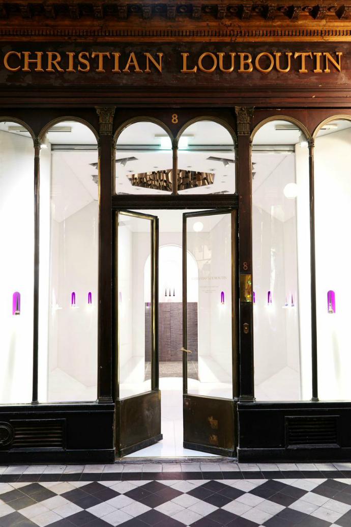 Кристиан Лубутан открыл первый бьюти-бутик в Париже