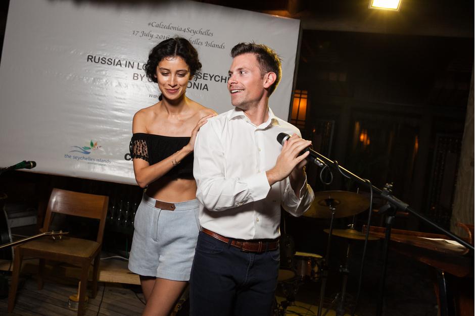 Равшана Куркова и Антонио Алицци