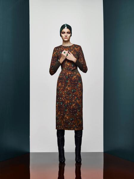 Хозяйка Медной горы: новая pre-fall коллекция A LA RUSSE Anastasia Romantsova | галерея [2] фото [5]