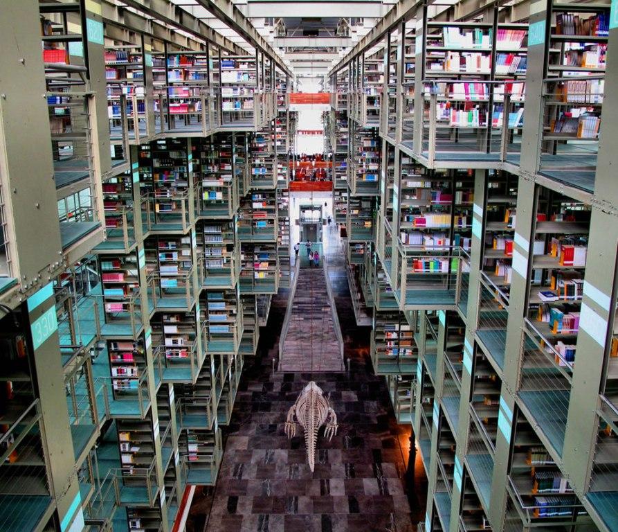 Библиотека имени Хосе Васконселоса, Мексика