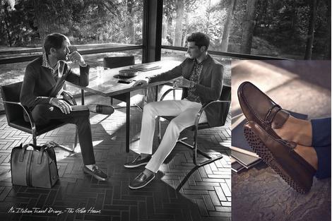 «Стеклянный Дом» Филипа Джонсона – герой рекламной кампании Tod's | галерея [1] фото [1]