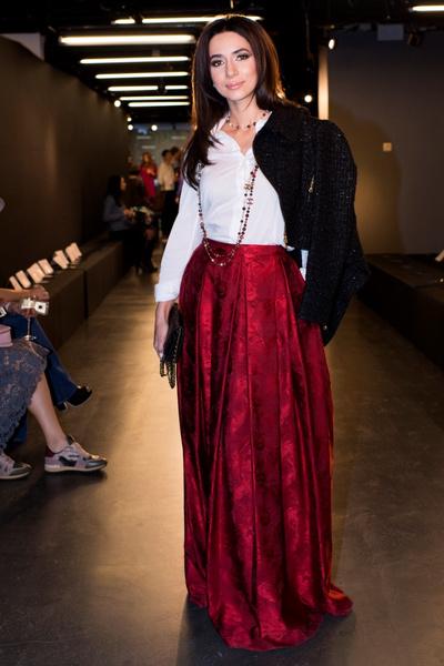 Дотянуться до звезд: показ коллекции A LA RUSSE Anastasia Romantsova осень-зима 2015-2016 | галерея [1] фото [12]